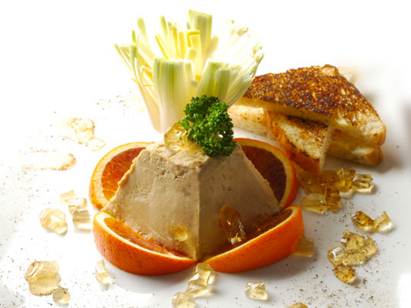 Lavarel fish pate with double cereal bread